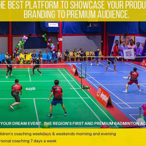 badminton coaching near me