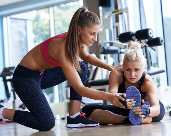 become a gym trainer