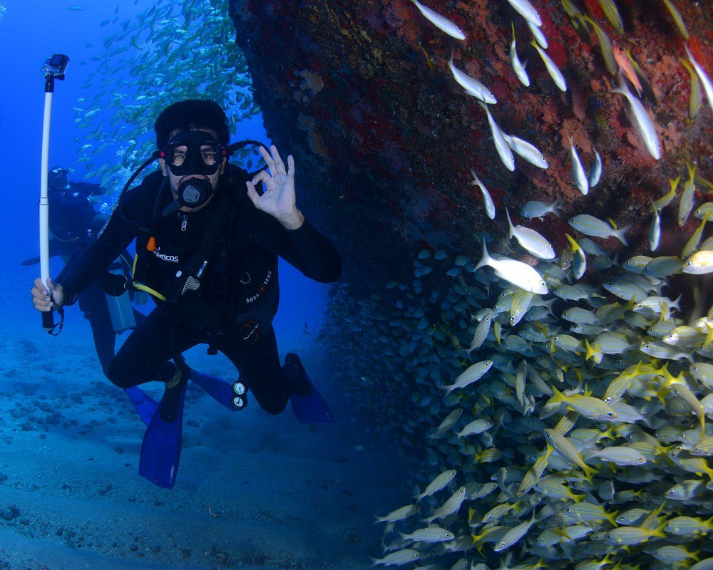 PADI OPEN WATER SCUBA DIVING COURSE - Emotions