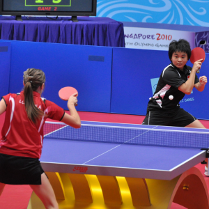 where to play table tennis in dubai