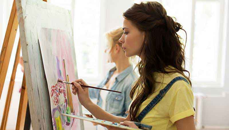 Arts classes in dubai