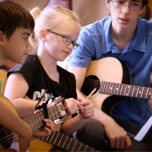 guitar class child