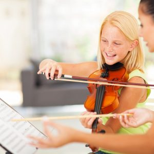 the violin classes