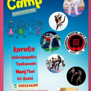universal martial arts summer camp