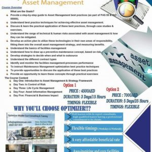 asset management courses in dubai