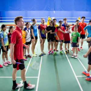 group badminton classes in dubai